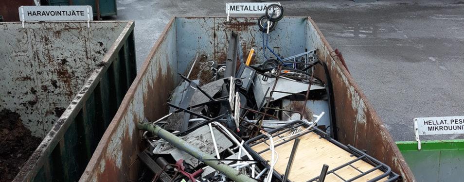 Onkiniemelle kierrätyskeskus?